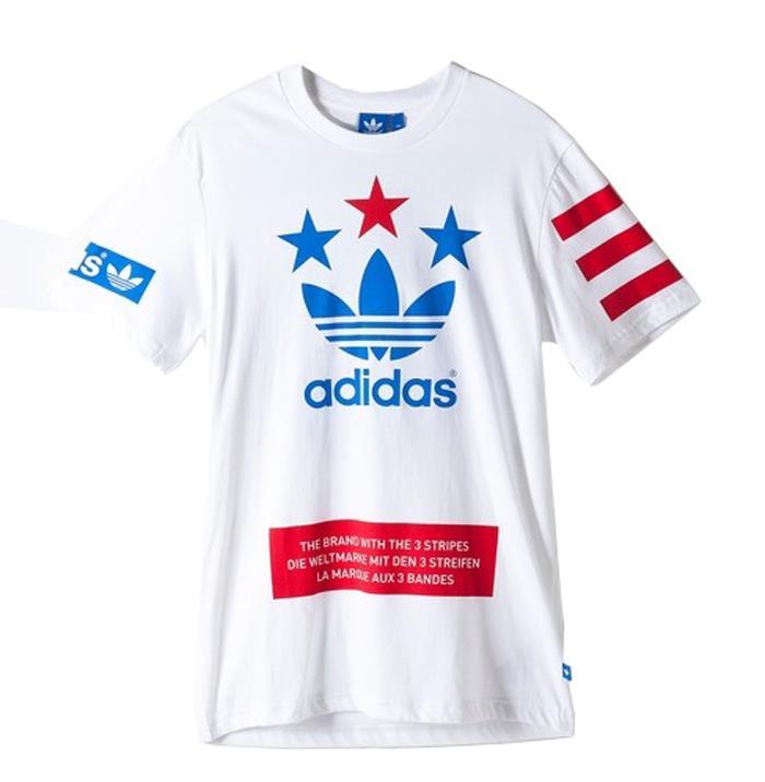 2015 Jul Adidas Originals Street Logo Men 39 S Athletic Tee T