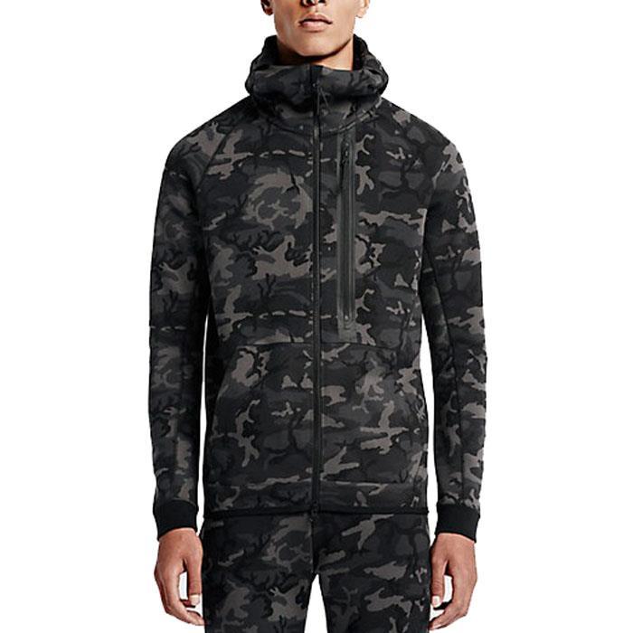 2015 sep nike tech fleece camo full zip men 39 s hoodie hoody. Black Bedroom Furniture Sets. Home Design Ideas