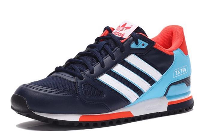 check out a65d9 d92ab ... shoes black white blue ed61c bb1fc  best price 2016 feb adidss originals  zx 750 men 039 e234b 0f92a