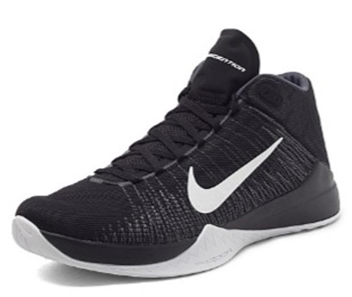 nike zoom ascention silver black