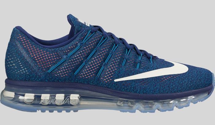 Nike Air Max 2016 Loyal Blue/Summit White Men's Running Shoes Sz 10.5 806771 411