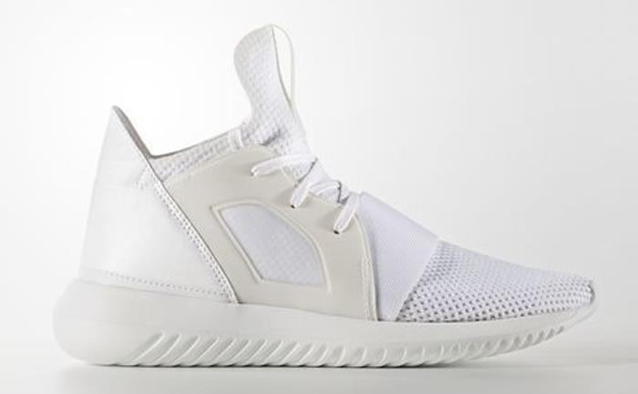 adidas Women's Tubular Defiant (Core Black Core White) KicksUSA