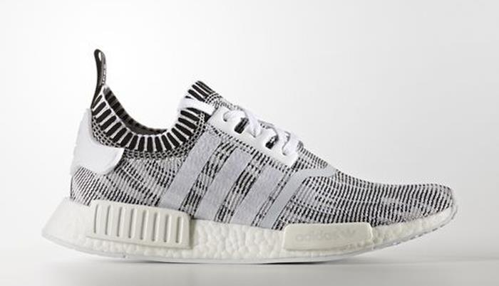 1705 adidas Originals NMD_R1 Primeknit Shoes Men's Sneakers Shoes BY1911
