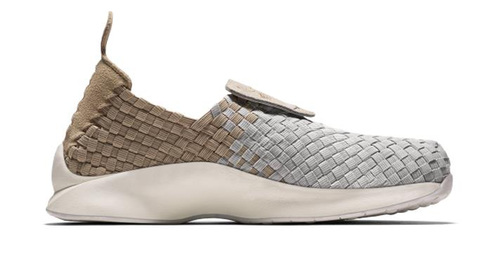 1706 Nike Air Woven Women's Slip-on Sneakers Shoes 302350-200