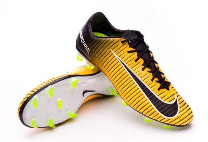 1707 - nike volubile veloce iii terra ferma gli uomini di calcio football scarpe 847756-801 laser arancione / bianco / nero / volt