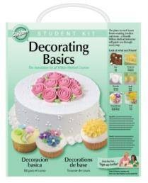 Basic Cake Decorating Kit Wilton : Wilton DECORATING BASICS STUDENT COURSE KIT Cake Lesson eBay