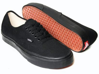 VANS-AUTHENTIC-MENS-SKATEBOARD-SHOES-BLACK-BLACK-NEW-AUSTRALIAN-SELLER-FREE-POST
