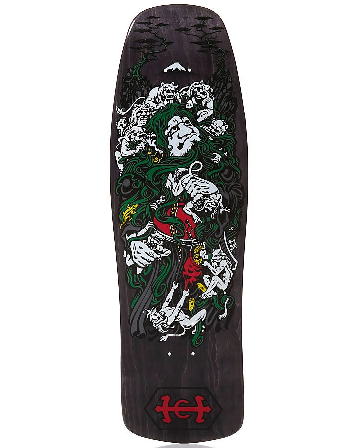 SANTA-CRUZ-HOSOI-MONK-BLACK-RE-ISSUE-SKATEBOARD-DECK-9-4-NEW-AUSTRALIAN-SELLER