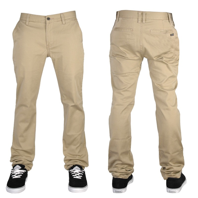 EMERICA-CHINO-MENS-HSU-CARLIN-KHAKI-NEW-AUSTRALIAN-SELLER-FAST-FREE-POST