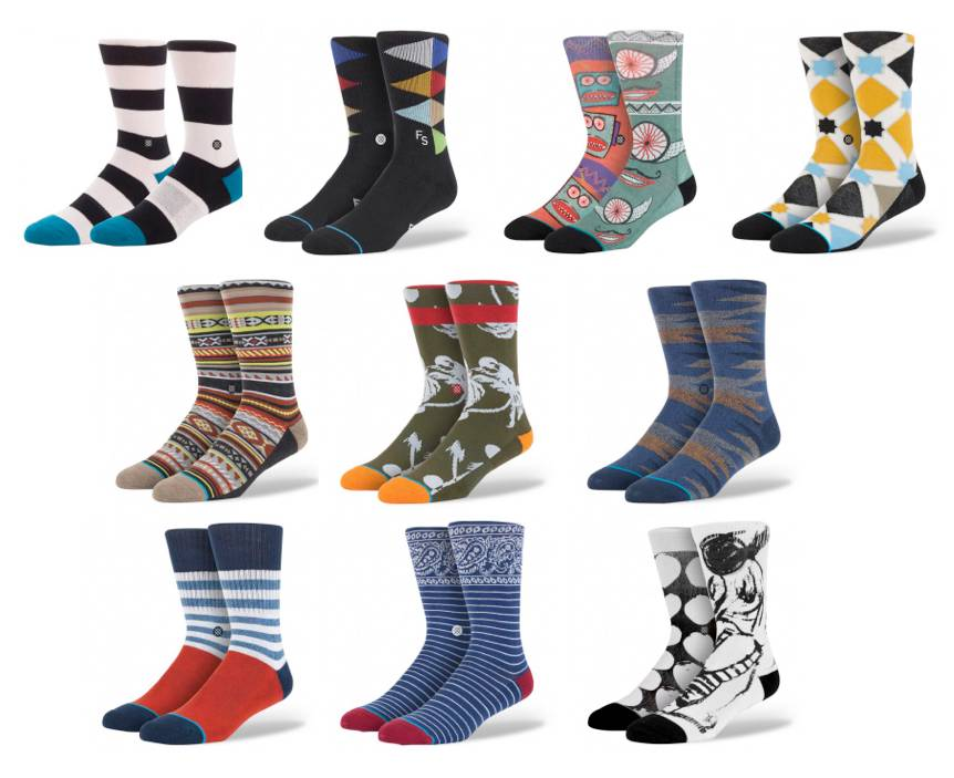 STANCE-SOCKS-MENS-L-XL-9-TO-13-USA-mixed-SERIES-AUSTRALIAN-SELLER-FREE-POST