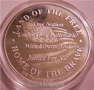 September 11 2001 Spirit Of America Fire Police 1 Oz