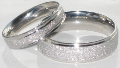 Mens Or Womens Sparkleblast 6mm 4mm Sparkle Wedding Ring