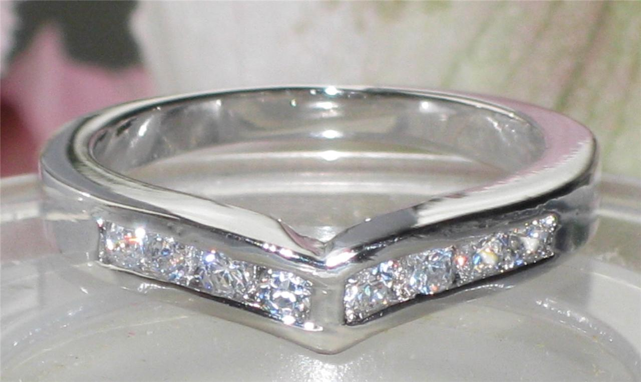 SALE WOMEN channel seT ETERNITY RING SIMULATED DIAMOND RING bn1018