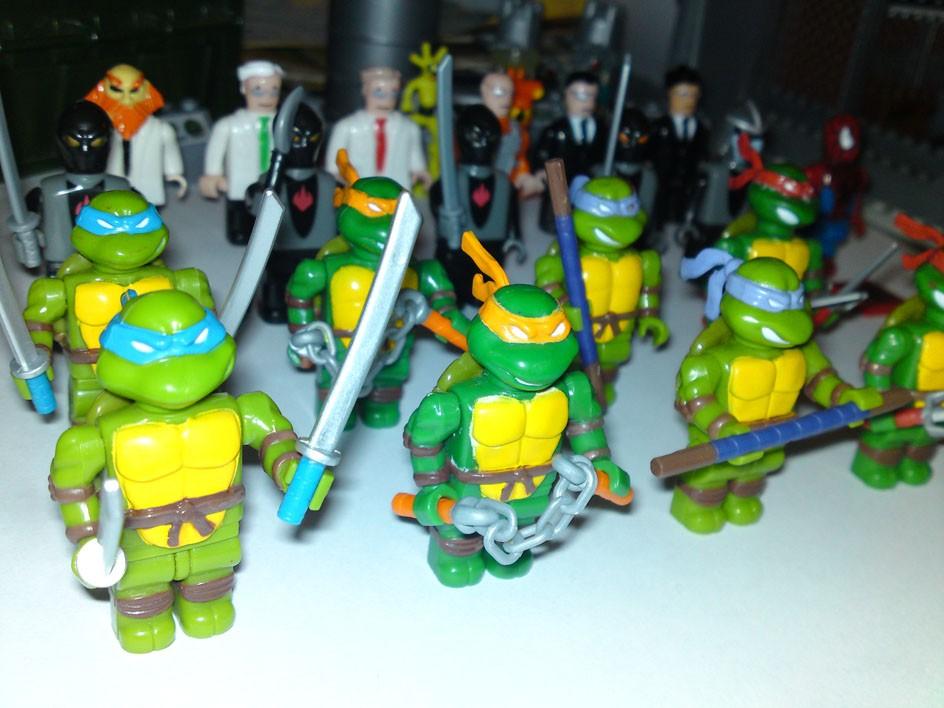 ninja turtle lego instructions