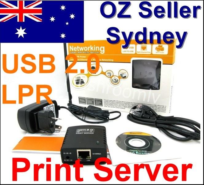USB-2-0-Ethernet-Networking-Print-Server-LPR-HP-ESPON