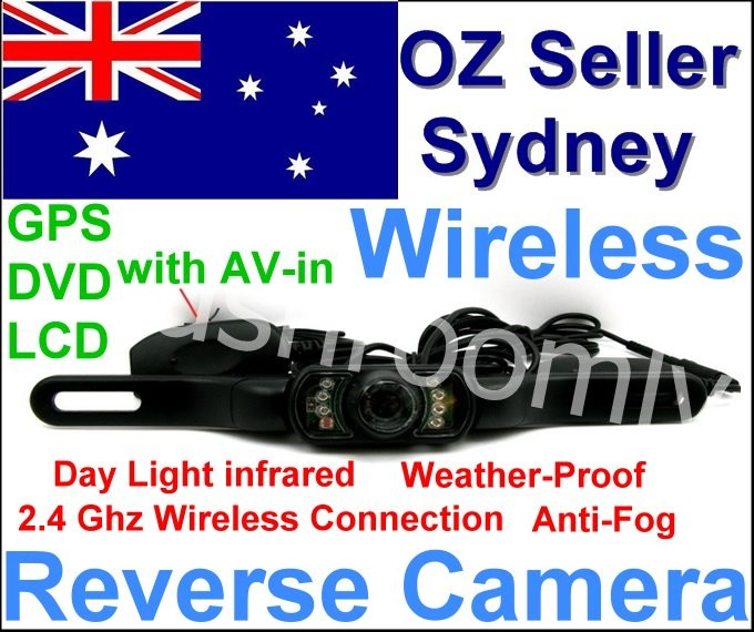 Wireless-Reversing-Camera-Car-RearView-GPS-Partner-OZ