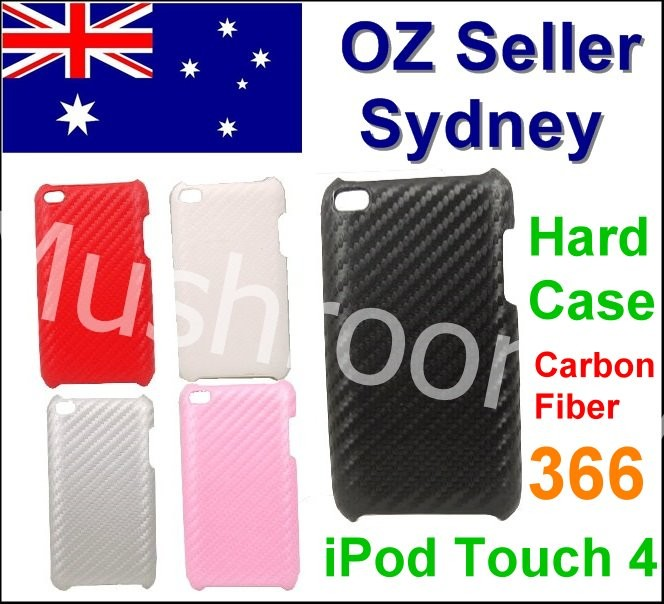 Carbon-Fiber-Hard-Case-Shell-Cover-For-Apple-iPod-Touch-4-4G-4th-4gen-366