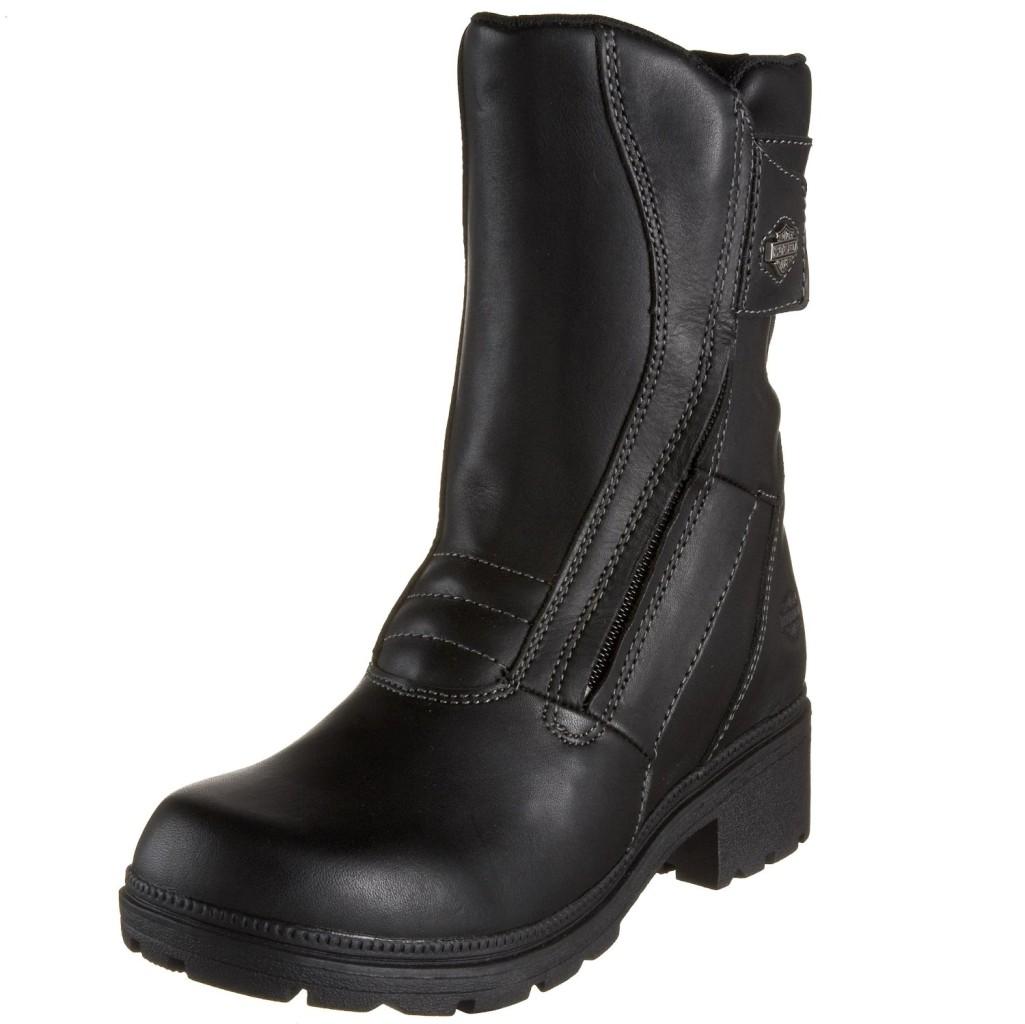 NEW Harley Davidson Trista Twin Zip Boots Womens 5 5.5