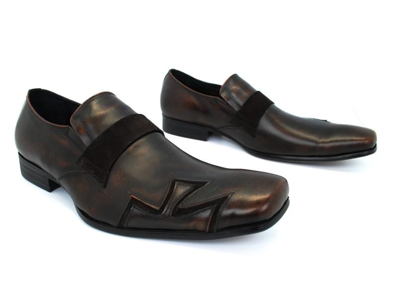 new robert wayne charles leather dress casual lightweight