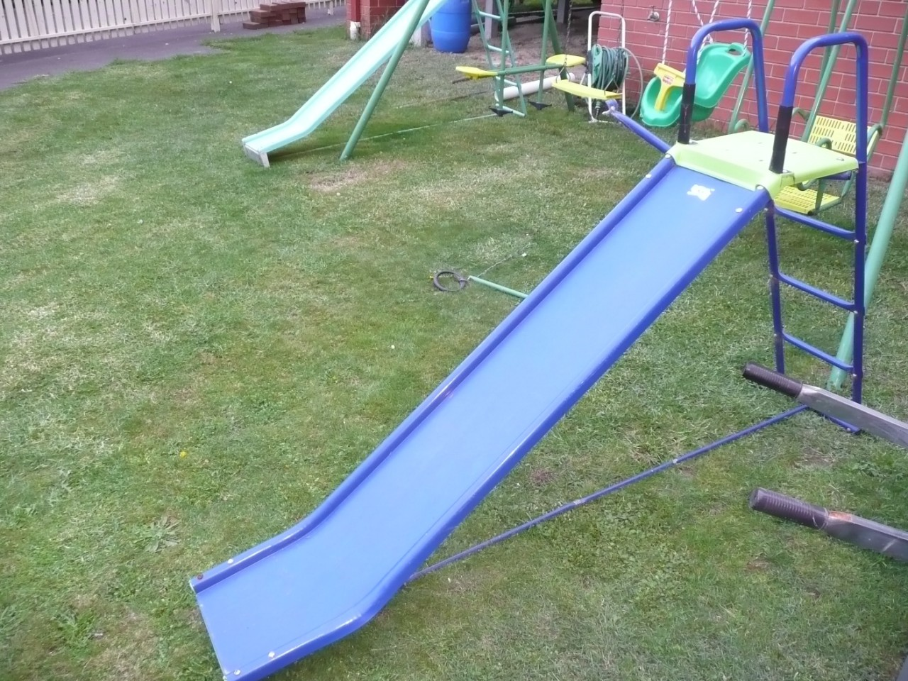 Outdoor Kids Childrens Slide Play Set