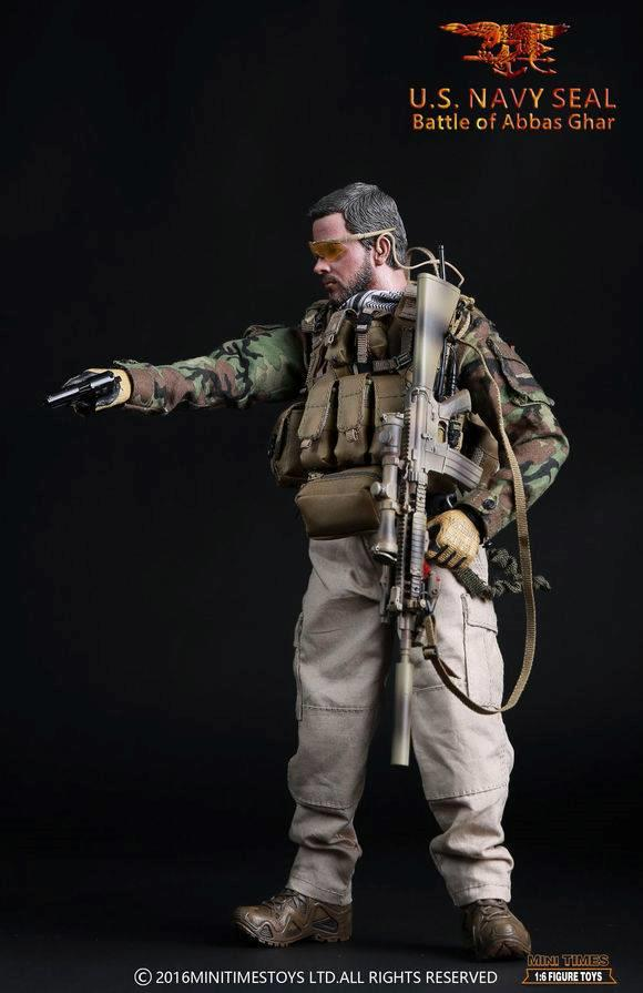 Navy Seal Battle of Abbas Ghar MT-M005 Red Wings Figure 1//6 Mini Times Toys U.S