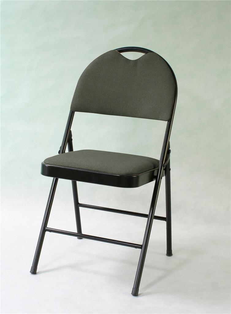 4pcs xl size commercial quality black metal folding chair furniture