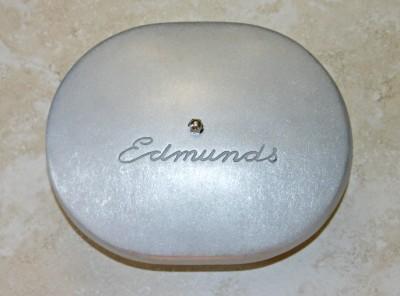 Edmunds Patina Finish Air Cleaner 4 Barrel Ford Flat Head Hot Rod Rat Rod 1932