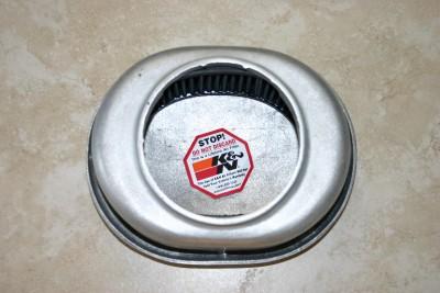 Edmunds Patina Finish Air Cleaner 4 Barrel Ford Flat Head Hot Rod Rat