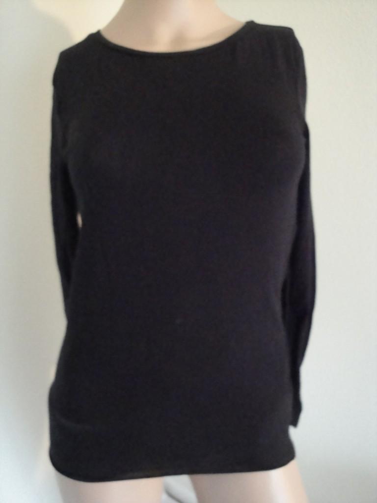 GRANE-Womens-Crew-Neck-Long-Sleeve-Tee-Shirt-Various-Colors