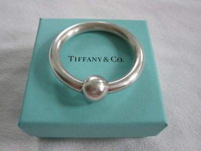 Tiffany Amp Co Sterling Single Ring Baby Rattle Teether Ebay