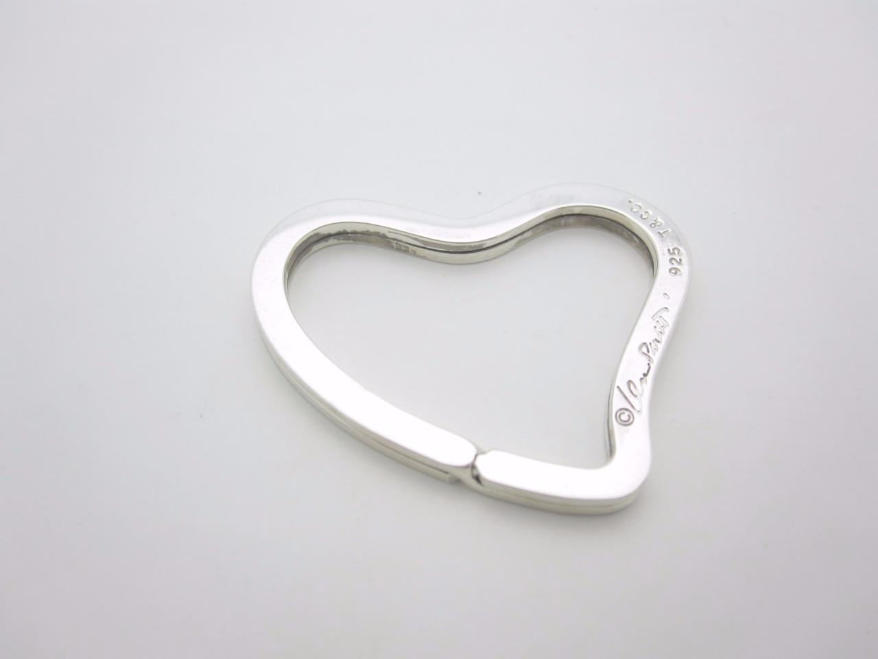 Tiffany And Co Sterling Silver Heart Ring