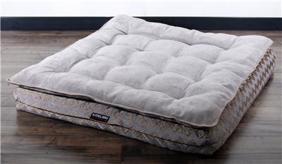 kirkland signature orthopedic dog bed pillow top pet napper large