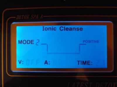 NEW EHM PRO Dual Ionic Foot Detox Spa Bath Lcd Machine w Fir Belts 5