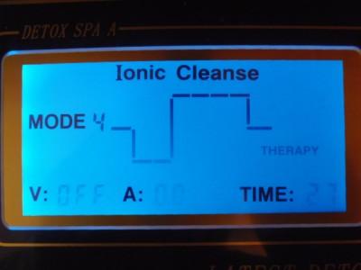 EHM PRO Dual Ionic Foot Detox Spa Bath Lcd Machine w Fir Belts 5 MODES