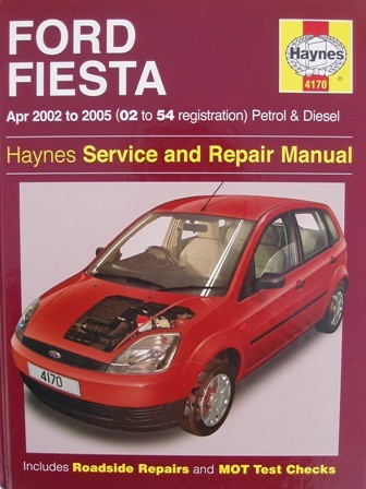 haynes manual ford fiesta fusion 02 to 54 reg 2002 2005 pet diesel ebay. Black Bedroom Furniture Sets. Home Design Ideas