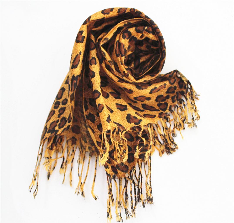 New-Animal-Print-Pashmina-Cashmere-Shawl-Scarf-Wrap-Hot