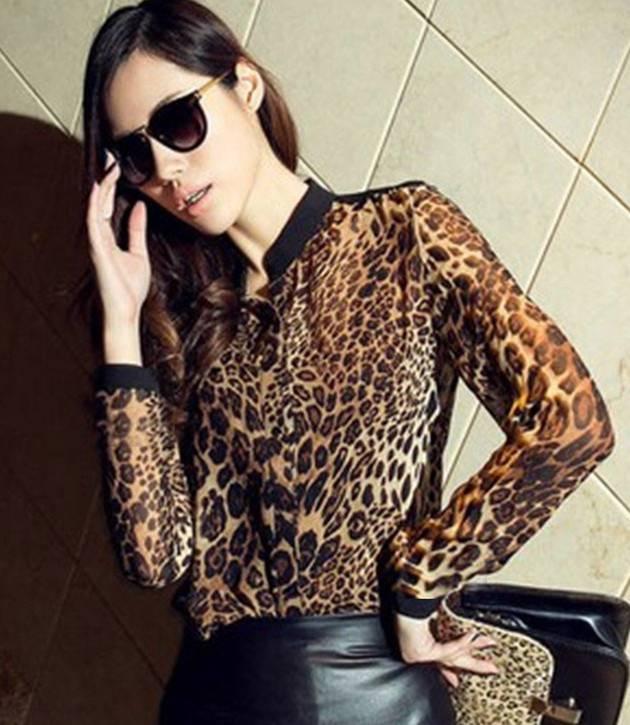 Блузки Тигровые