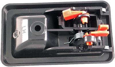 Service manual jeep wrangler inside door handle 1987 2006 left driver black yj tj w rod clip for 2008 kia spectra interior door handle