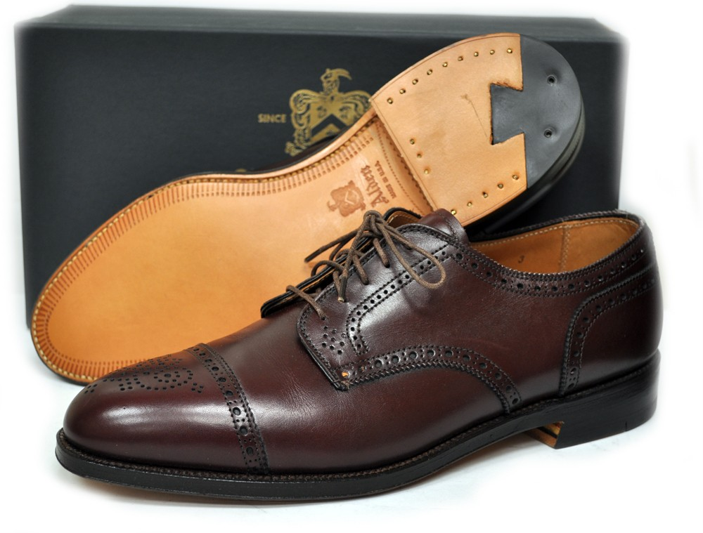 new alden mens shoes cap toe style 958 made in usa 430 ebay
