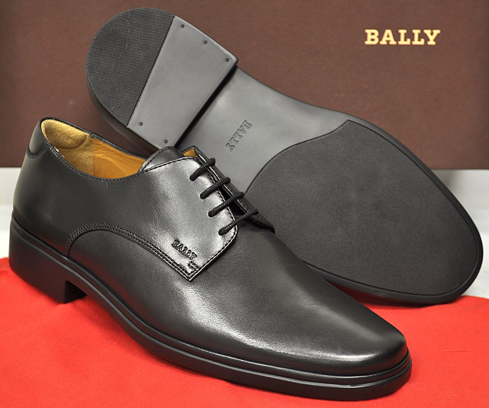 New-Bally-Mens-Shoes-New-Cabriel-Oxford-Made-In-Switzerland-Black-425