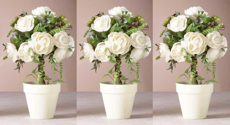 Wedding rose topiary decorations centerpieces favors ebay