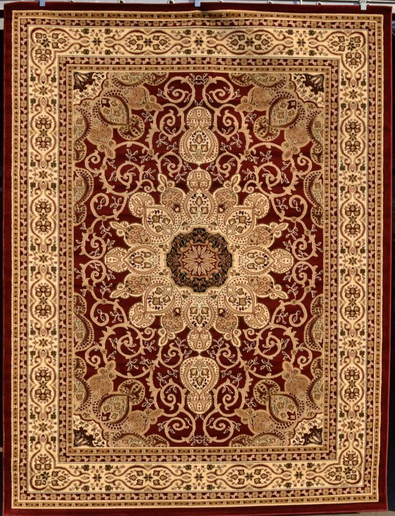 burgundy green beige black isfahan area rug oriental. Black Bedroom Furniture Sets. Home Design Ideas