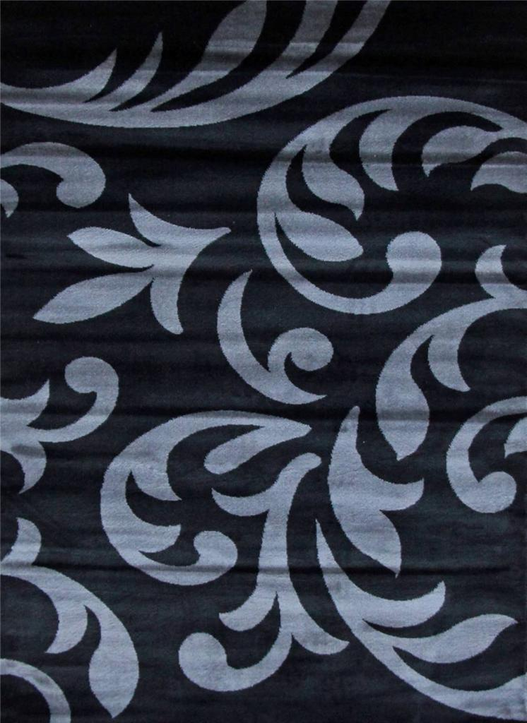 5903 turquoise gray black brown 5x7 8x10 area rugs carpet contemporary modern ebay. Black Bedroom Furniture Sets. Home Design Ideas
