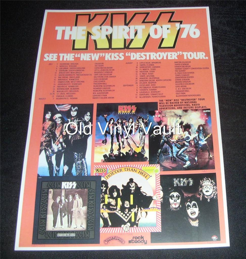 Kiss-The-Spirit-Of-76-tour-promo-poster-repro