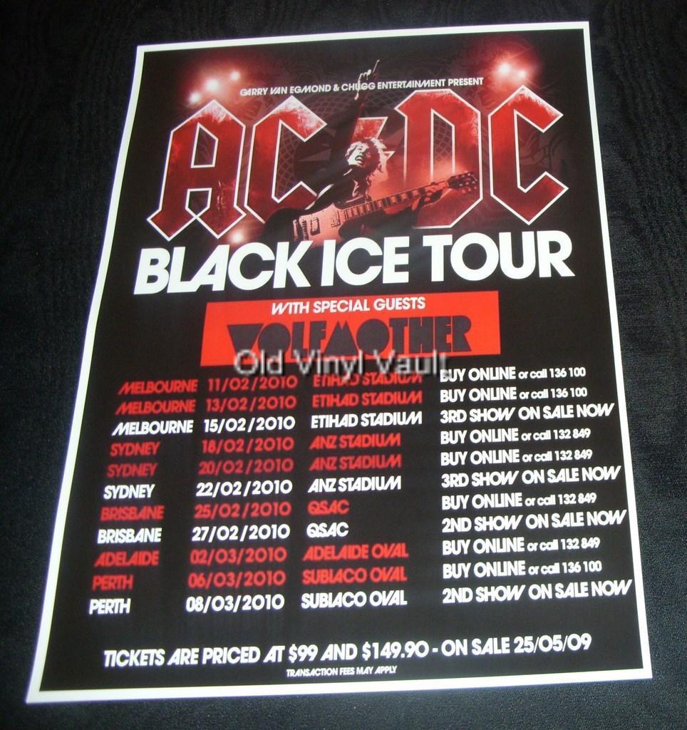 Acdc World Tour  Australia