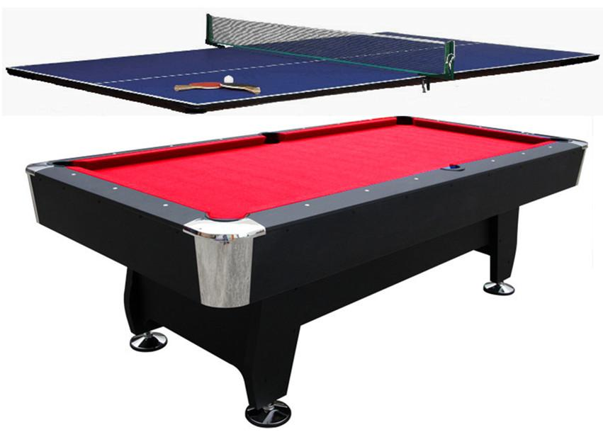 8ft pool table snooker billiard ping pong top. Black Bedroom Furniture Sets. Home Design Ideas