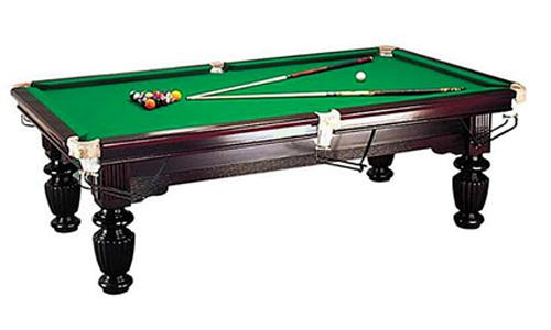 Game room package 8ft slate pool snooker table soccer for 1 4 size snooker table