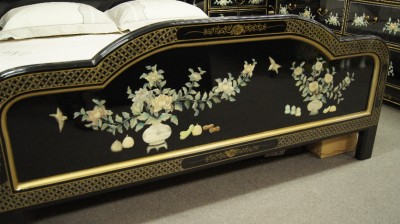 Ebay Bedroom Furniture on Chinoiserie Oriental Chinese Bedroom Furniture   Ebay
