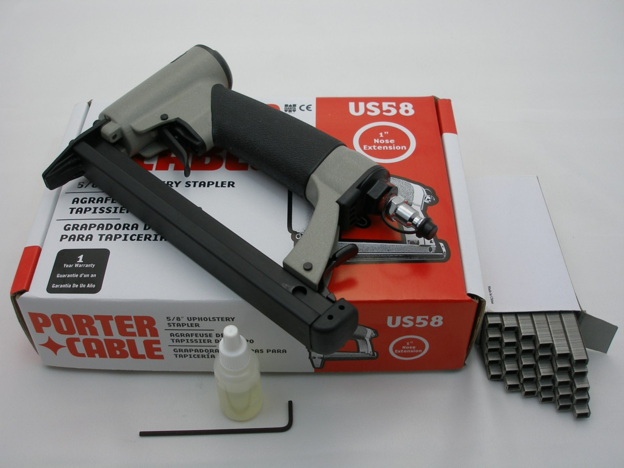 Porter Cable US58 Upholstery Staple Gun Inc Staples | eBay