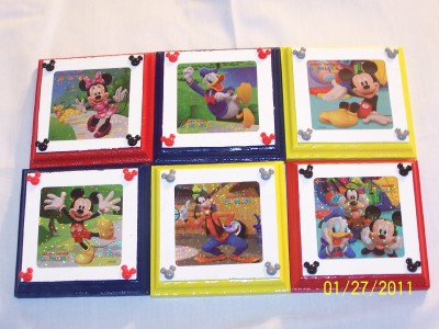 5 disney mickey mouse clubhouse wall paques decor bedding - Mickey mouse clubhouse bedroom curtains ...